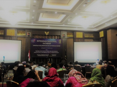 Integrasi Nasional Database JDIH Tahun 2016
